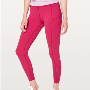 Lululemon Fast and Free HR 7/8 Tights
